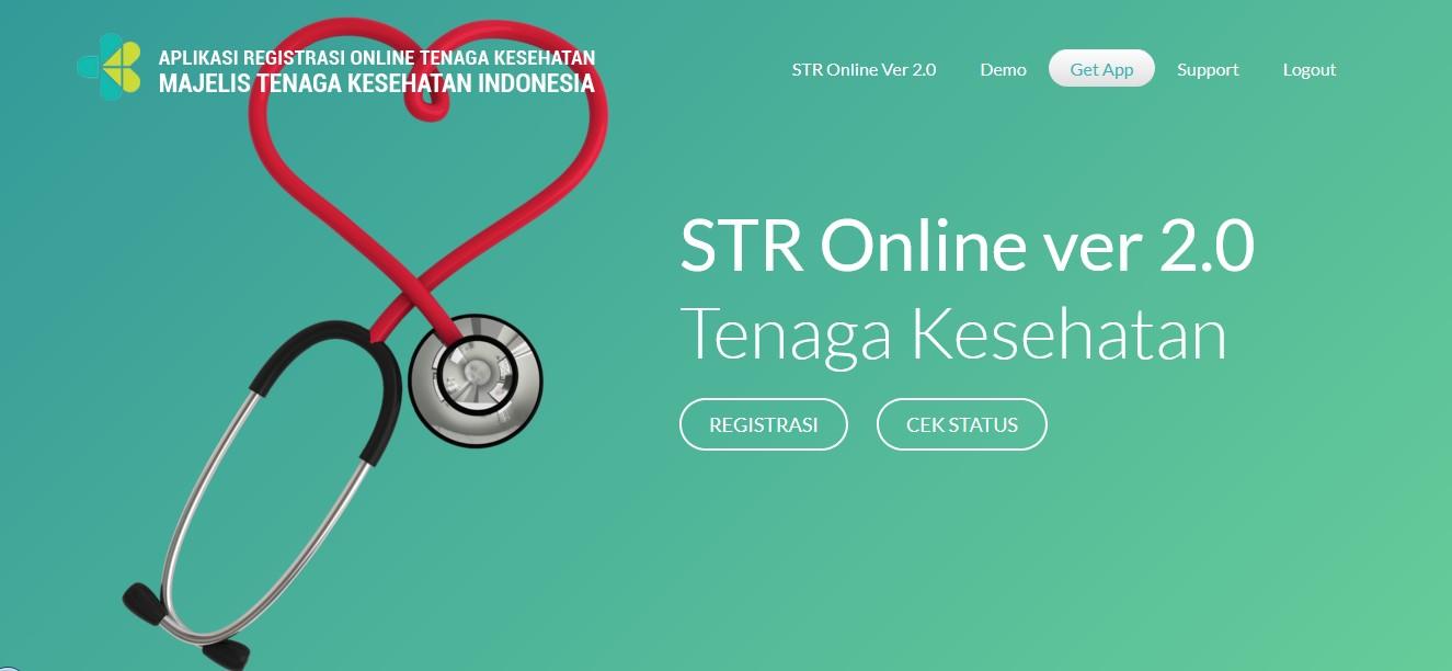PANDUAN PEMBUATAN STR ONLINE 2.0 REGISTRASI BARU
