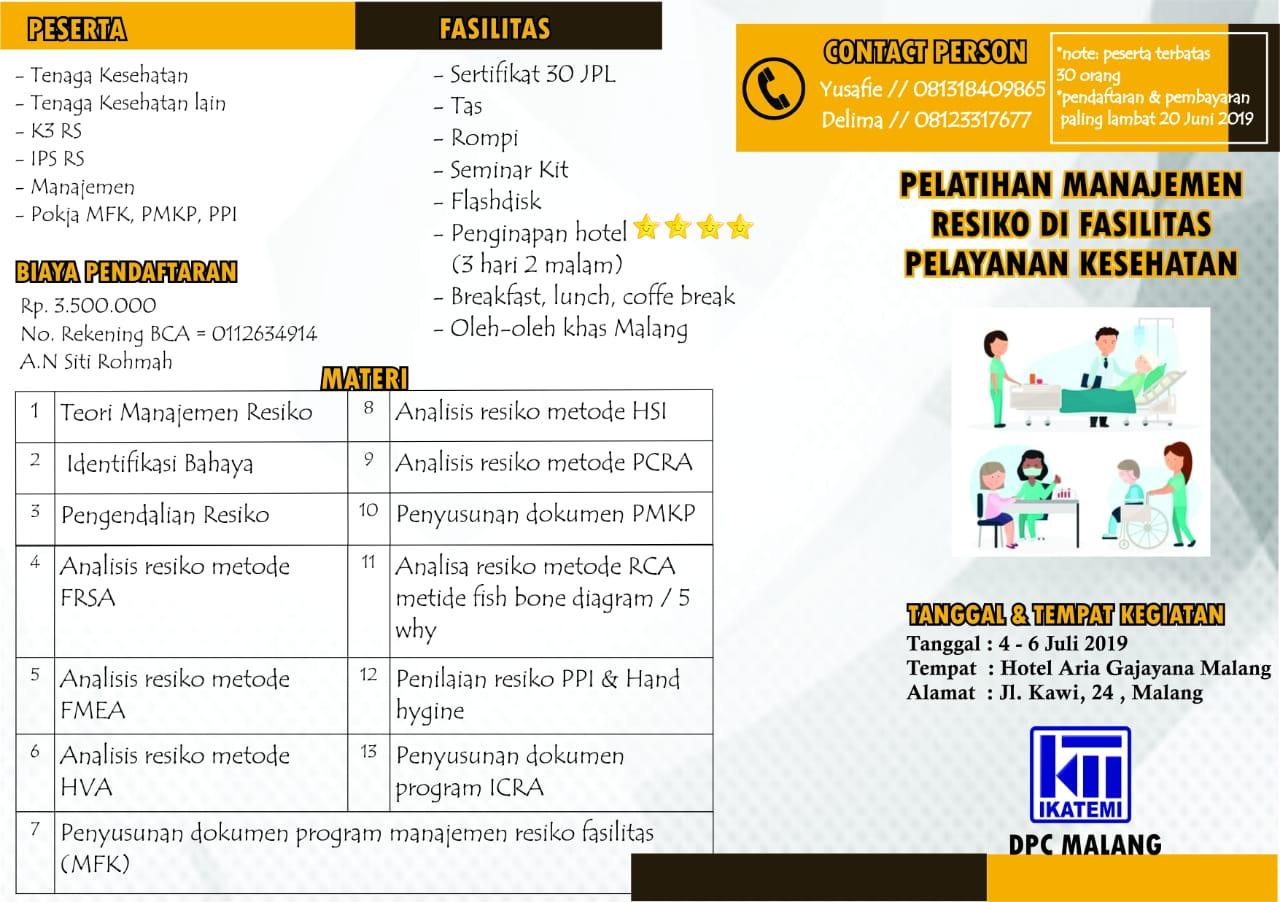 Pelatihan Nasional DPC Malang